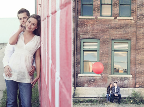 Caitlin & Aidan: Love & A Red Balloon | vintage toronto renaissance studios photography red balloon love erin blackwood engagement dj caitlin and aidan  | engagements | Renaissance Studios Photography | Toronto Wedding and Engagement Photography