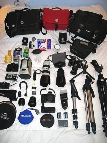Kit fotografo